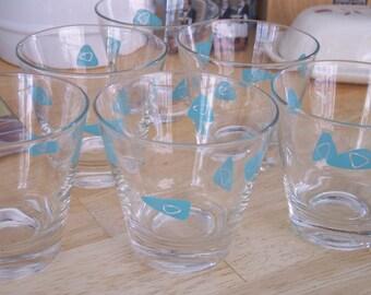 Eames BarWare Atomic Design Glasses