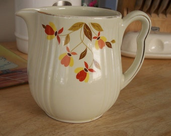 Halls Milk Pitcher Floral Design