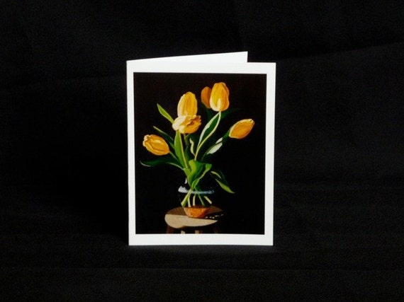 Yellow Tulip - LAST ONE