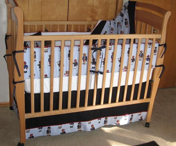 Polo Bear Crib Bedding