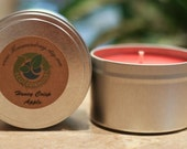 8oz HONEY APPLE CRISP Soy Candle Travel Tin
