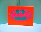 Neon Batman Wallet