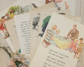 15 Vintage Childrens Book Pages (including Dick and Jane)