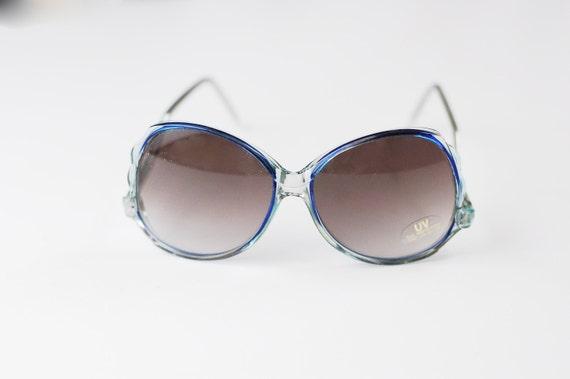 1970s Blue Sunglasses