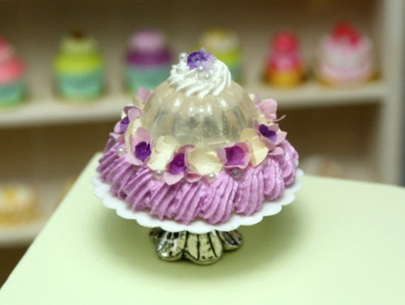 Marie-Antoinette Crystal Jelly - French Miniature Food in 12th Scale