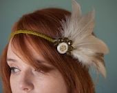 White Feather Blooming Band
