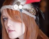 Feather mini Head Dress
