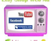 Etsy Shop Web Ad
