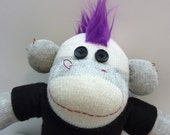 Harley the Punk Sock Monkey