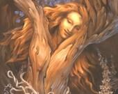 Forest Dancer - Tree Goddess Print