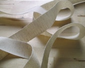 Special listing for Guertina - 15 yards Organic Hemp/Cotton Tape, 7/8 inch