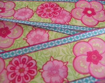 1 Yard - ENGLISH ROSE Satin Ribbon