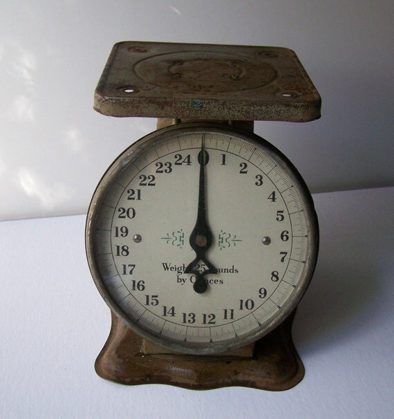 Antique Kitchen Scale: Antique Kitchen Scale