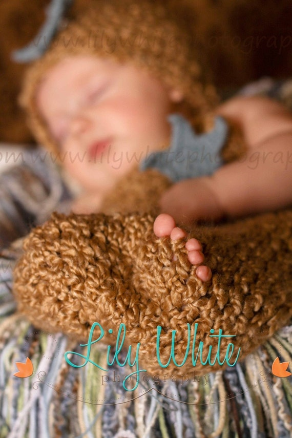 Chunky Newborn Shooting Star Cocoon and Hat Set
