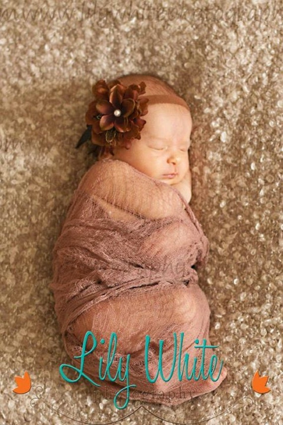 Clearance!!!  Lace Baby Or Maternity Wrap- Choose Your Color RTS