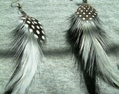 Custom Made Feather Earrings Very Beautiful