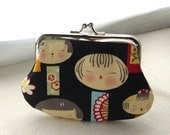 Coin purse - Change Purse - Cotton Coin Purse - Kids Coin Purse -  Ready to Ship
