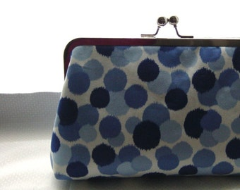 Wedding Clutch - Bridal Clutch - Bridesmaids Clutch - Wedding Purse - Bridesmaids Gifts - Blue Bridal Clutch Purse - Kristian Clutch