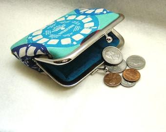Coin Purse - Change Purse - Blue Coin Purse