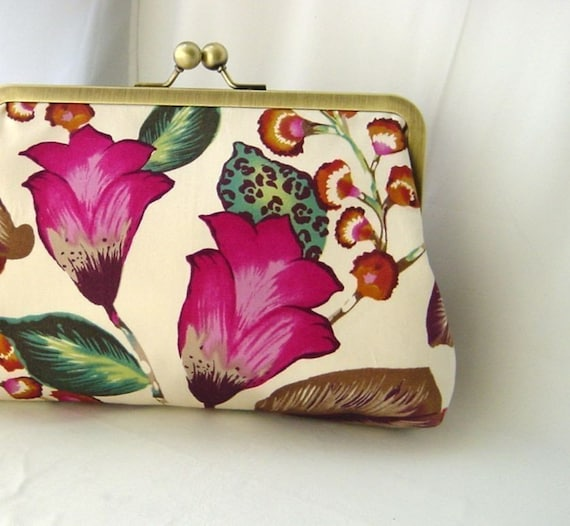 Bridal Clutch - Bridesmaids Clutch - Wedding Clutch - Floral Clutch - Bridesmaids Gift - Wedding Gifts - Judy Clutch
