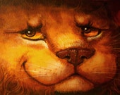 The Lion ACEO art print