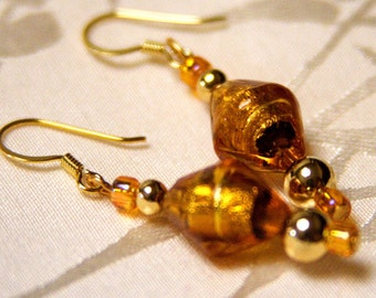Golden Venetian Earrings