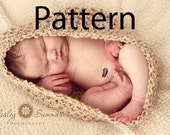 Newborn Baby Cocoon Bowl PDF Crochet Pattern