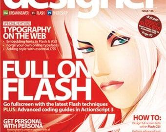 Web Designer Magazine - Issue 136 - CD included, Tutorial, Magazine, Book