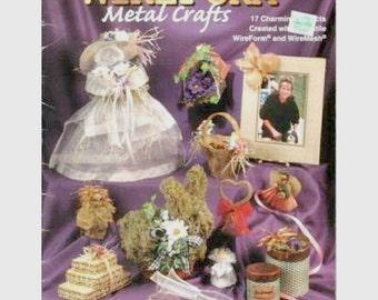 WireForm Metal Crafts Pattern Booklet, Tutorial, Book, Magazine, Craft