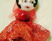 Fancy Lady About Town Gift Topper