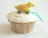 Duck Toy Cupcake Toppers - 1 Dozen
