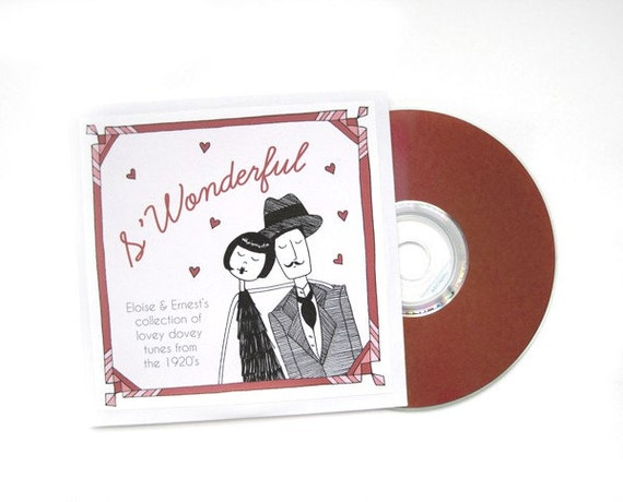 1920s Valentines Day music // S'Wonderful - Eloise and Ernest's collection of lovey dovey tunes from the 1920's // digital download