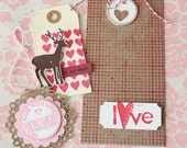 Valentines Gift Tag Kit