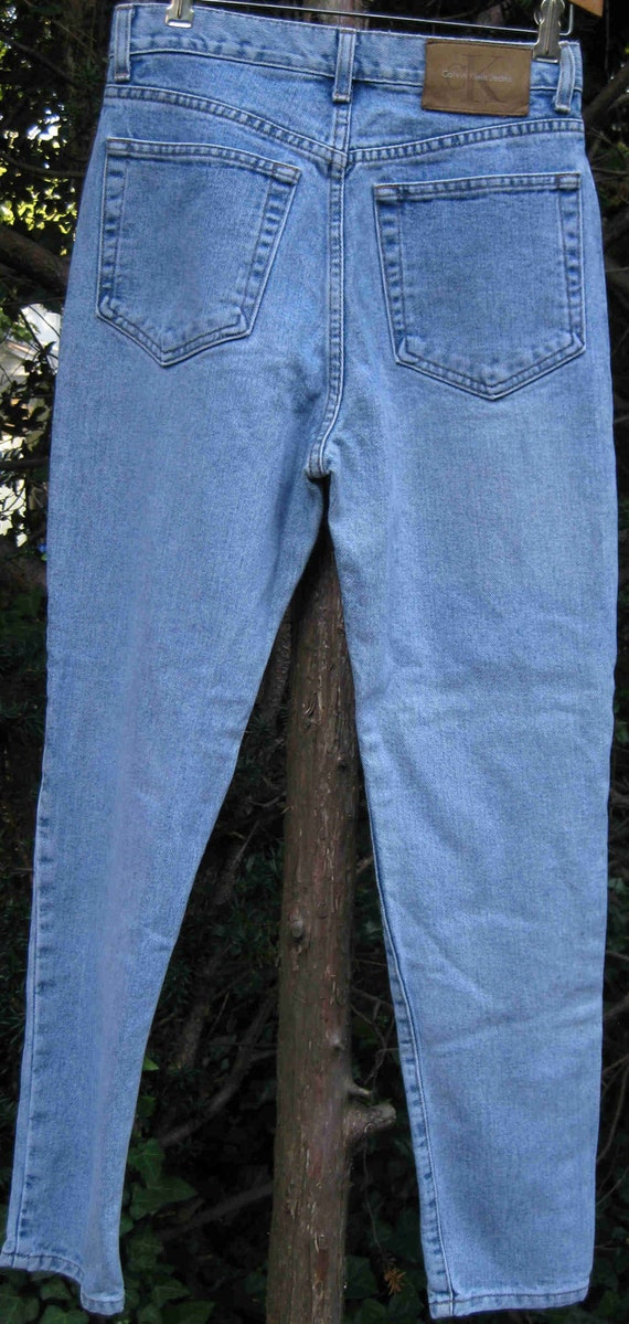 30 waist CALVIN KLEIN  jeans, AMERICAN made 80s vintage