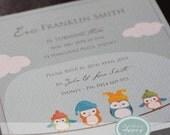 Printable Owl Invitation