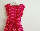 Spring Vintage Design Dress Size 6 years
