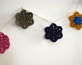 Multicolor Crochet garland / bunting