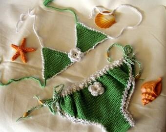 Baby girl crochet bikini