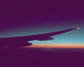 Leaving on a Jet Plane On My Way Home Wingtip light nursery