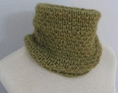 Hand Knit Neck Warmer for Men or Women.