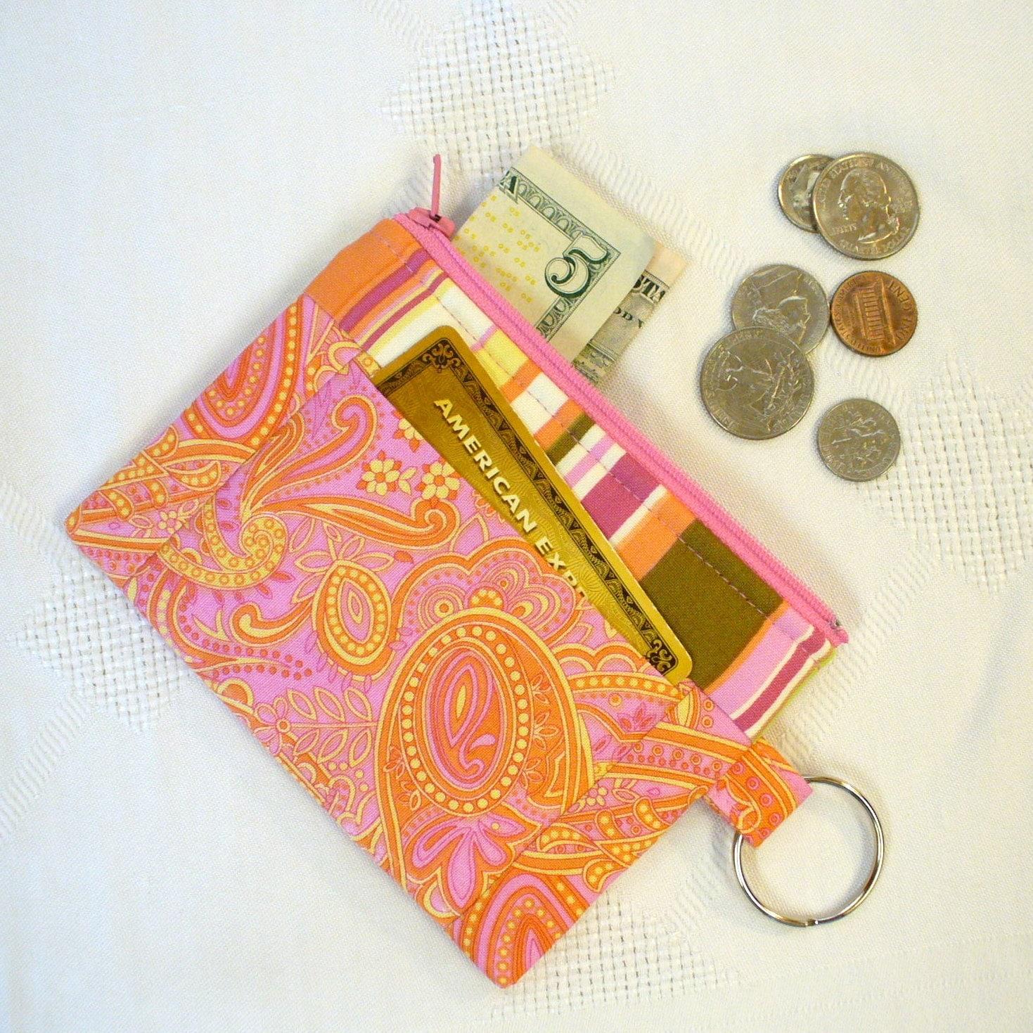 Card slot purse