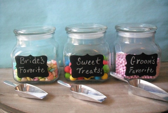 Candy Bar Containers Mygift Designer Clear Glass