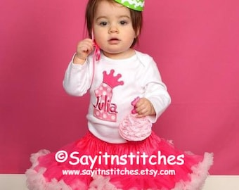Personalized Birthday shirt or bodysuit, boy or girl,  prince or princess