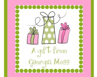 Gift Box Labels / Stickers / Enclosure Cards / Address Labels - Set of 24