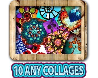 Special Offer - Buy 10 Any Digital Collage Sheets