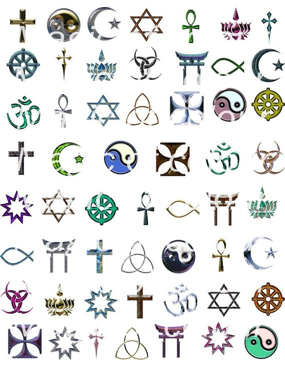 All Religion Symbols And Names Imagenesmy