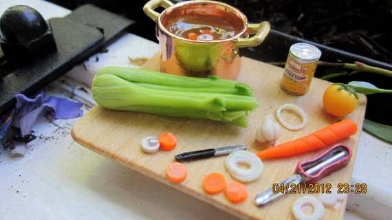 Vegetable Soup Prep Board