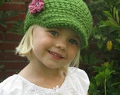 PATTERN Crochet Newsboy Hat Baby Child Beanie PDF Pattern