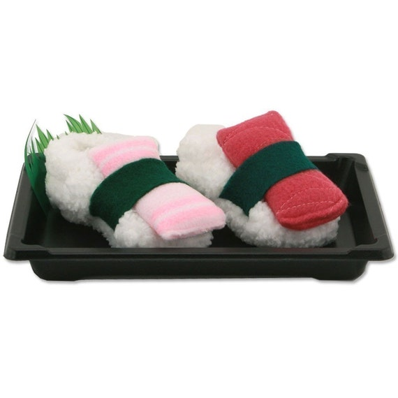 Sushi Baby Booties - Size 4 to 8 Months
