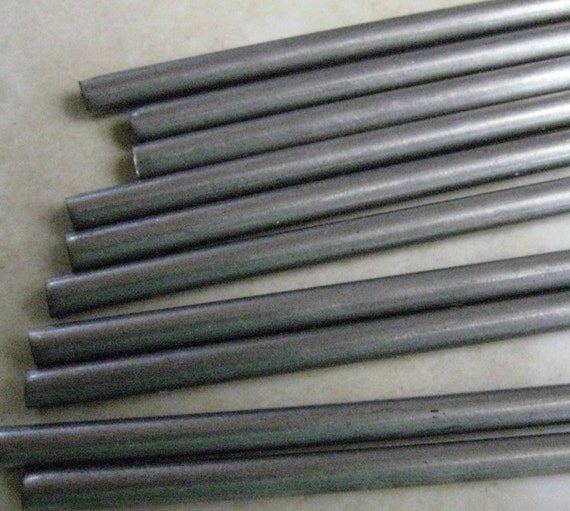 "1/16th inch 9"" Stainless Steel Mandrels qty 24"